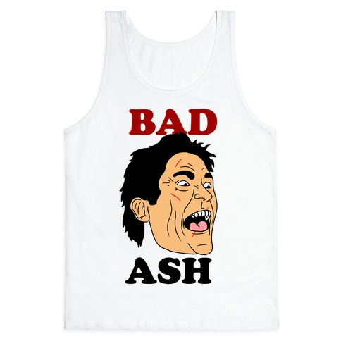 Bad Ash Couples Shirt Tank Top