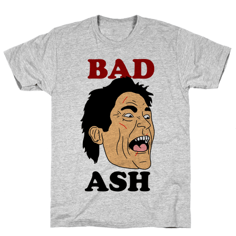 Bad Ash Couples Shirt Mens T-Shirt
