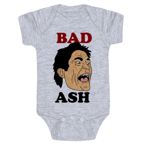 Bad Ash Couples Shirt Baby Onesy