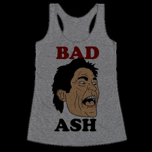 Bad Ash Couples Shirt Racerback Tank Top