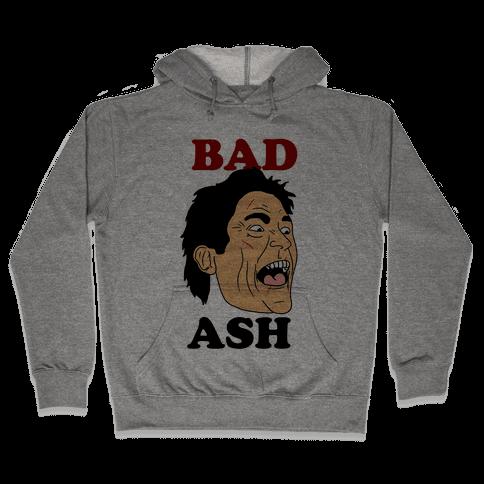 Bad Ash Couples Shirt Hooded Sweatshirt