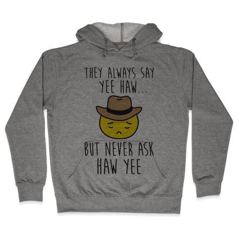 Sad Cowboy Emoji Hooded Sweatshirt