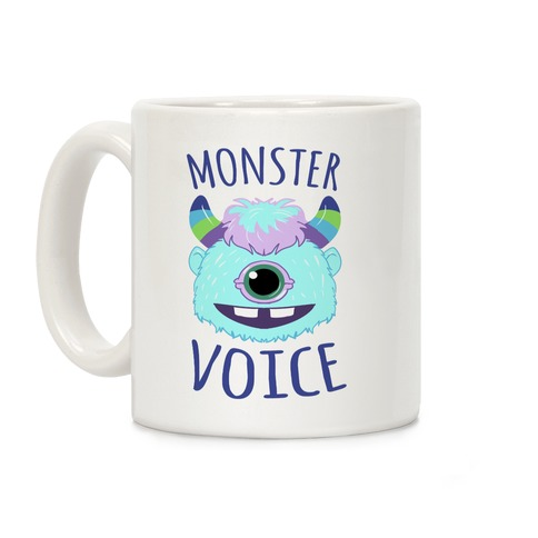 Monster Voice Coffee Mug