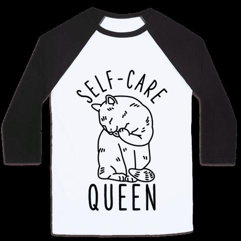 Self-Care Queen Baseball Tee