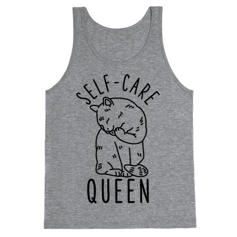 Self-Care Queen Tank Top