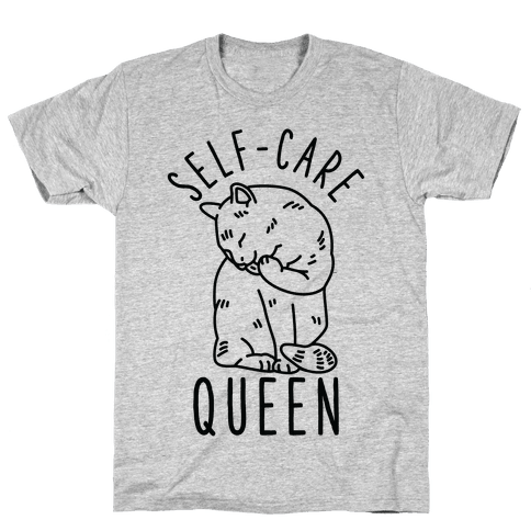 Self-Care Queen Mens T-Shirt