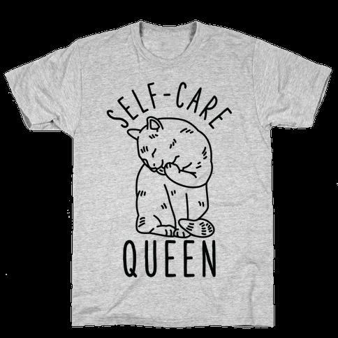 Self-Care Queen Mens T-Shirt