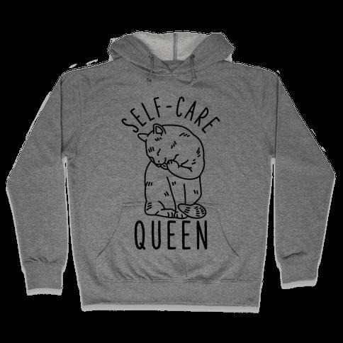 Self-Care Queen Hooded Sweatshirt