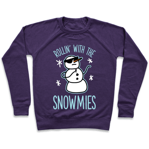 Rollin' With The Snowmies Pullover