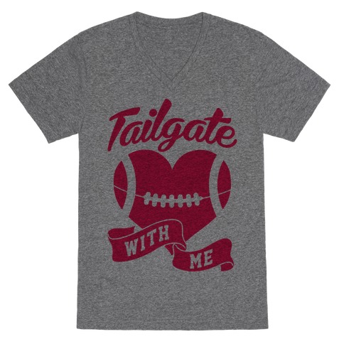 Tailgate With Me V-Neck Tee Shirt