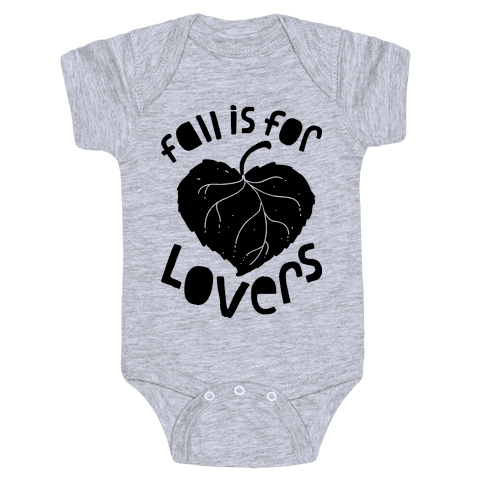 Fall Is For Lovers Baby Onesy