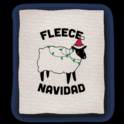 Fleece Navidad Blanket
