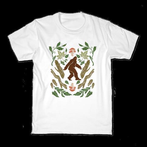 Sasquatch Sighting Kids T-Shirt