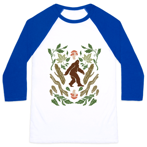Sasquatch Sighting Baseball Tee