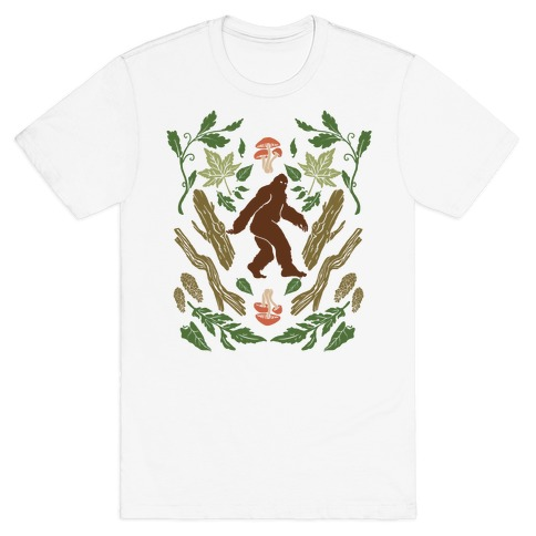 Sasquatch Sighting Mens T-Shirt