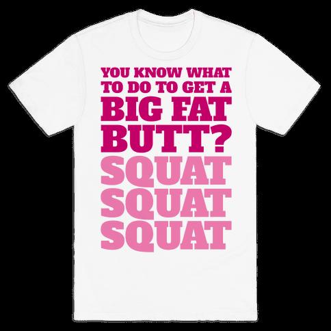 Wiggle Squats Mens T-Shirt