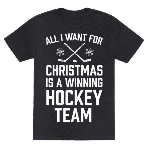 All I Want For Christmas A Winning Hockey Team
