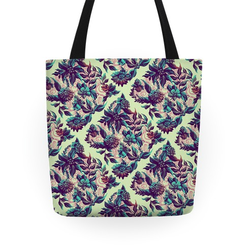 Garden Of Secret Horrors Tote