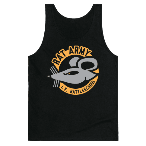 Rat Army (Faded) Tank Top