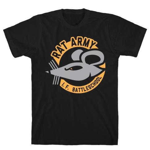 Rat Army (Faded) Mens T-Shirt