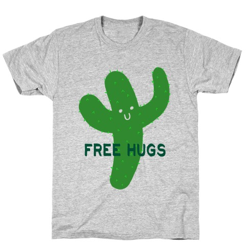 Free Hugs Cactus T-Shirt