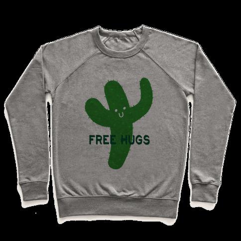Free Hugs Cactus Pullover