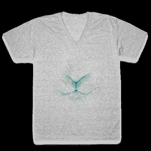 Snow Rabbit V-Neck Tee Shirt