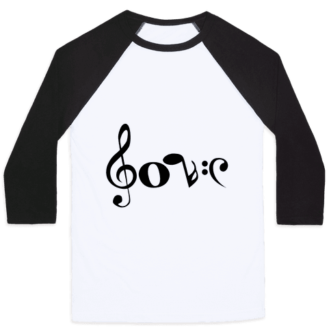 Love Notes Baseball Tee