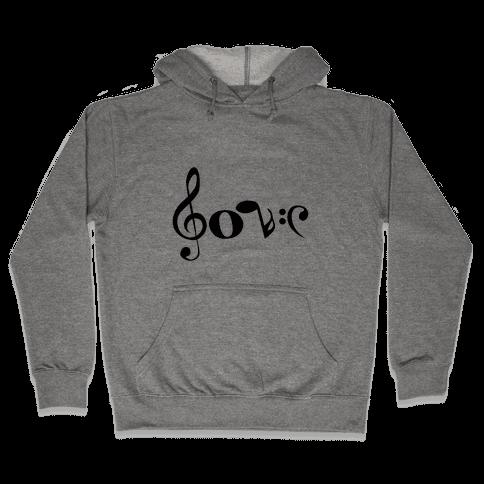 Love Notes Hooded Sweatshirt