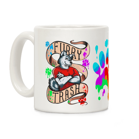 Furry Trash Coffee Mug