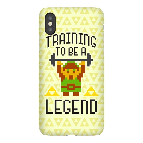 Training To Be A Legend Phone Case