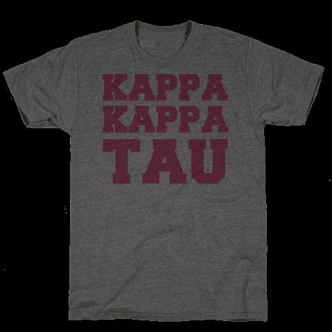 Kappa Kappa Tau Killer Sorority Mens T-Shirt