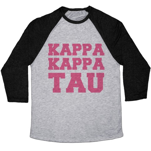 Kappa Kappa Tau Killer Sorority Baseball Tee