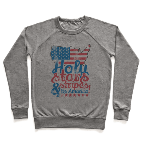Holy Stars and Stripes Pullover