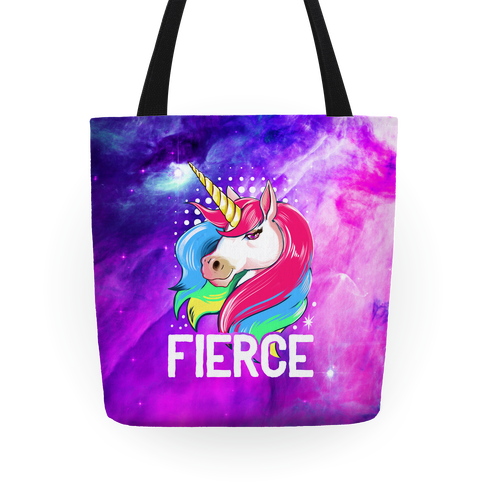 Fierce Unicorn Tote