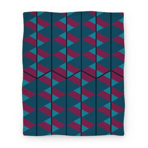 Triangle Pattern Blanket (Dark) Blanket