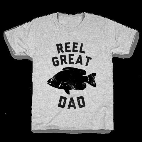 Reel Great Dad Kids T-Shirt