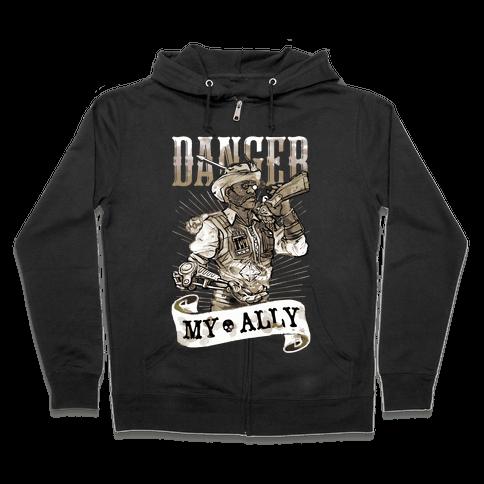 Danger My Ally Zip Hoodie