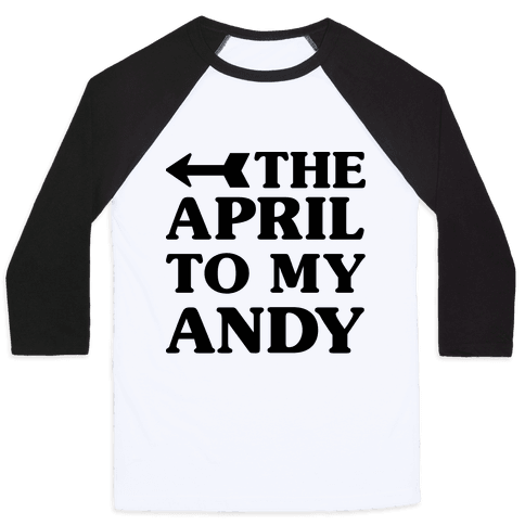 The April to My Andy Baseball Tee