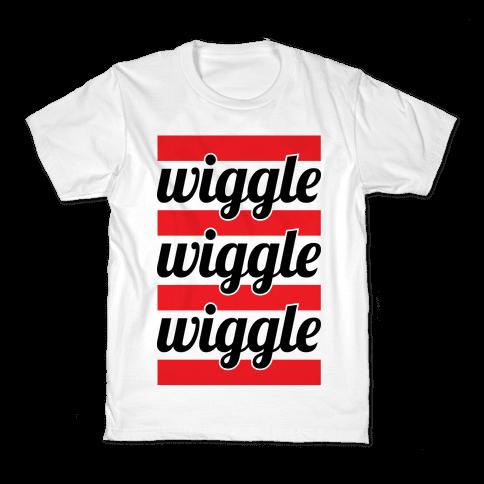 Wiggle Wiggle Wiggle Kids T-Shirt