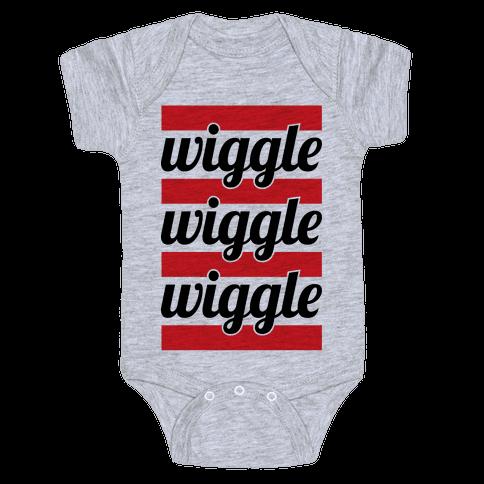 Wiggle Wiggle Wiggle Baby Onesy
