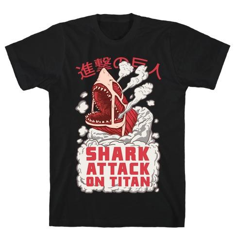 Shark Attack On Titan T-Shirt