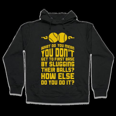 First Base Hooded Sweatshirt