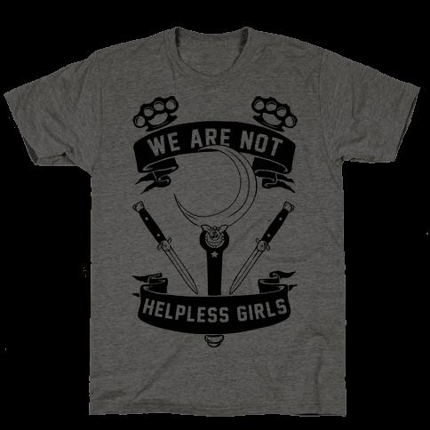 We Are Not Helpless Girls Moon Parody Mens T-Shirt