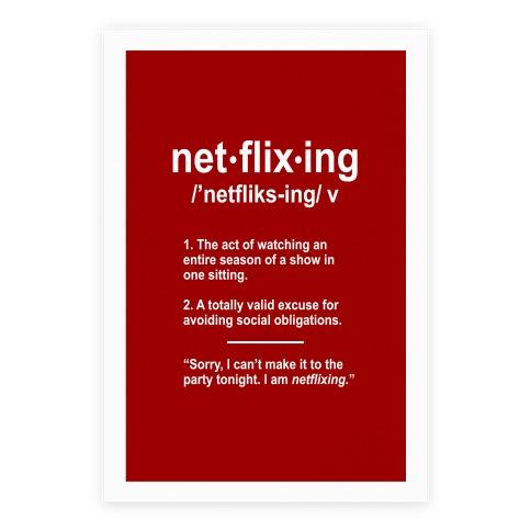 Netflixing Poster
