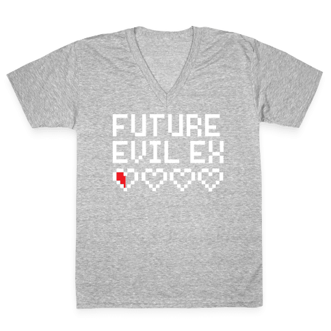 Future Evil Ex V-Neck Tee Shirt