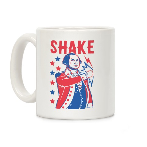 Shake & Bake: George Washington Coffee Mug
