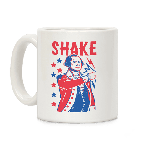 Shake & Bake: George Washington Coffee Mug