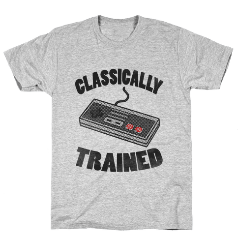 I'm Classically Trained Mens/Unisex T-Shirt