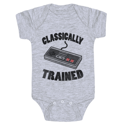 I'm Classically Trained Baby Onesy